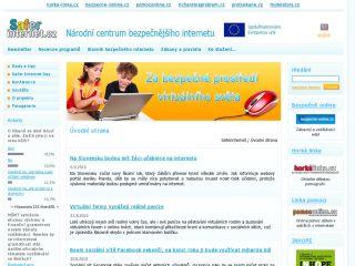 Náhled odkazu http://www.saferinternet.cz