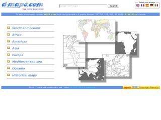 Náhled odkazu http://d-maps.com/