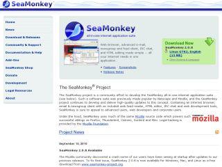 Náhled odkazu http://www.seamonkey-project.org/