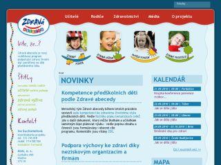 Náhled odkazu http://www.zdrava-abeceda.cz/
