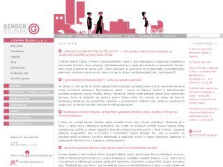 Náhled odkazu http://genderstudies.cz/