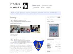Náhled odkazu http://fyzikalniolympiada.cz/