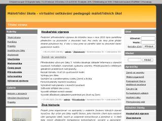 Náhled odkazu http://malotridka.ic.cz/