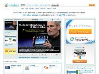 Náhled odkazu http://www.slideshare.net/