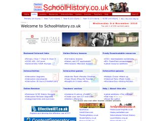 Náhled odkazu https://schoolhistory.co.uk/