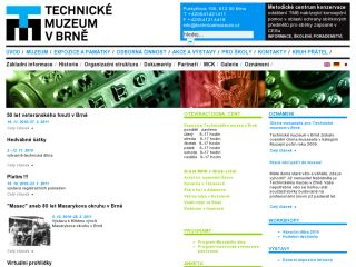 Náhled odkazu http://www.technicalmuseum.cz/