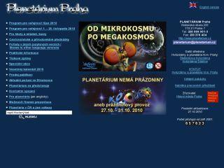 Náhled odkazu http://www.planetarium.cz/