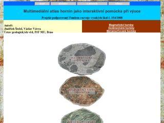 Náhled odkazu http://atlas.horniny.sci.muni.cz/