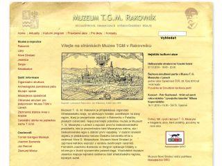 Náhled odkazu http://www.muzeumtgm.cz/