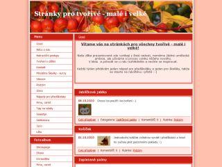 Náhled odkazu http://www.tvorive.estranky.cz/