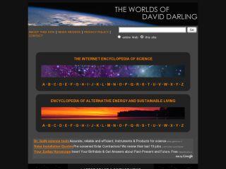 Náhled odkazu http://www.daviddarling.info/
