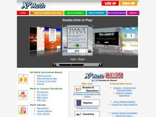 Náhled odkazu http://www.xpmath.com/