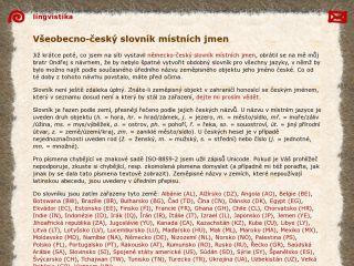 Náhled odkazu http://mmh.cz/lingua/jmj_cs
