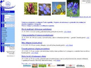 Náhled odkazu http://floracr.unas.cz/