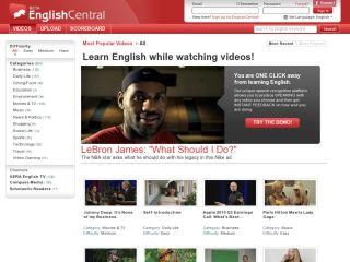 Náhled odkazu https://www.englishcentral.com/login?continue=https://www.englishcentral.com/en/videos