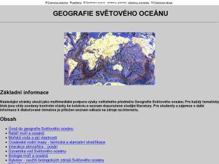 Náhled odkazu http://www.herber.webz.cz/www_ocean/index.html