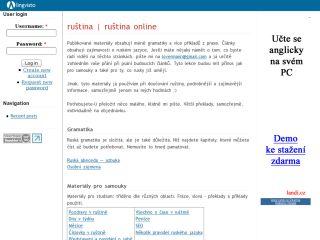 Náhled odkazu http://www.lingvisto.org/cz/russian