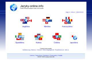Náhled odkazu http://www.jazyky-online.info/
