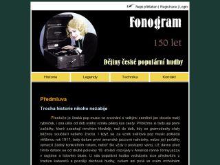 Náhled odkazu http://fonogram.4fan.cz/