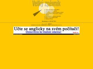 Náhled odkazu http://www.velkyzpevnik.cz/