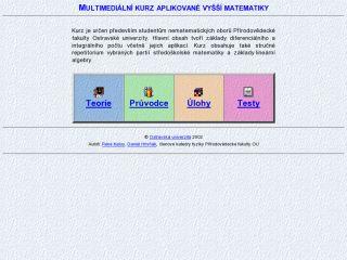 Náhled odkazu http://artemis.osu.cz/mmmat/