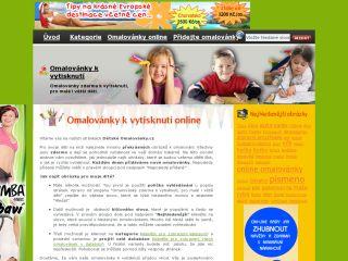 Náhled odkazu http://www.detskeomalovanky.cz/