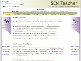 Náhled odkazu http://www.senteacher.org/