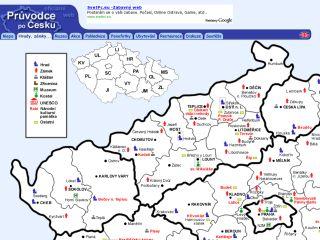 Náhled odkazu http://www.pruvodce.com/hrady_zamky_pamatky/mapa.php3