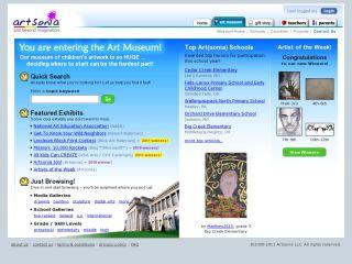 Náhled odkazu http://www.artsonia.com/