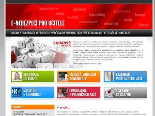 Náhled odkazu http://www.e-nebezpeci.cz