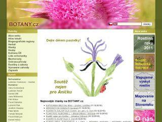 Náhled odkazu http://botany.cz/cs/