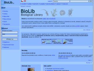 Náhled odkazu http://www.biolib.cz/