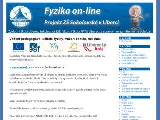 Náhled odkazu http://www.fyzikaonline.cz/