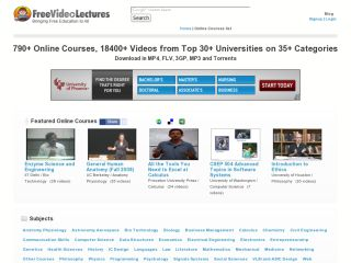 Náhled odkazu http://freevideolectures.com/