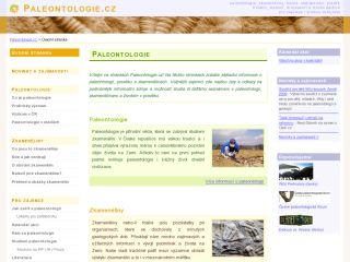 Náhled odkazu http://www.paleontologie.cz/