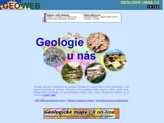 Náhled odkazu http://geologie.unas.cz/