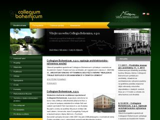 Náhled odkazu http://www.collegiumbohemicum.cz/