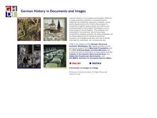 Náhled odkazu http://germanhistorydocs.ghi-dc.org/index.cfm