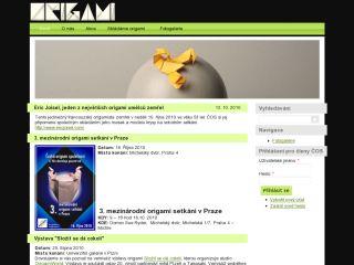 Náhled odkazu http://www.origami-cos.cz/