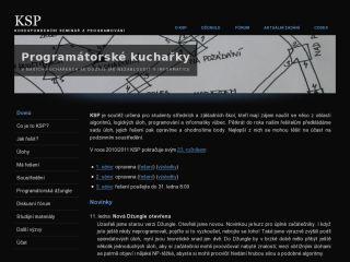 Náhled odkazu http://ksp.mff.cuni.cz/