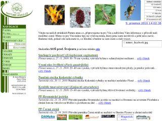 Náhled odkazu http://nature.unas.cz/