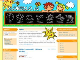 Náhled odkazu http://www.zlobidlo.cz/