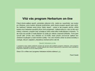 Náhled odkazu http://www.sci.muni.cz/botany/studium/herbarium/