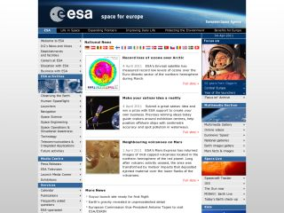 Náhled odkazu http://www.esa.int/ESA