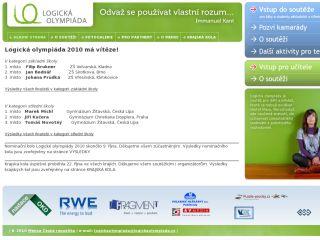 Náhled odkazu http://www.logickaolympiada.cz/