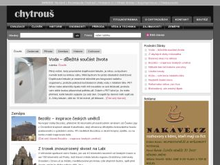 Náhled odkazu http://www.chytrous.cz/