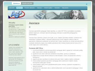 Náhled odkazu http://www.aspcr.cz