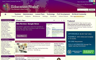 Náhled odkazu http://www.educationworld.com/