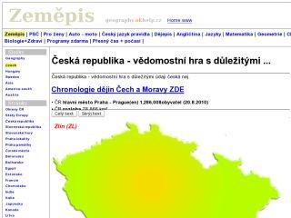 Náhled odkazu http://geography.okhelp.cz/czech/index.php