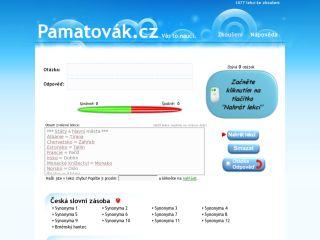 Náhled odkazu http://pamatovak.cz/